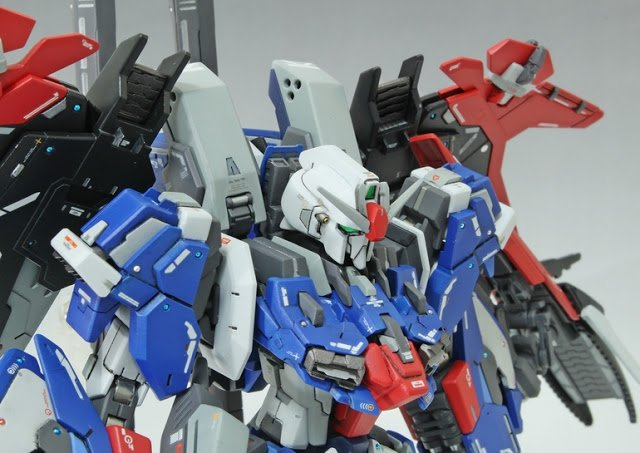 HGBF 1/144 MSZ-006LGT  Lighting Ex-Z Gundam - Custom Built Gunpla Kitbash - Superior Hobby Complex