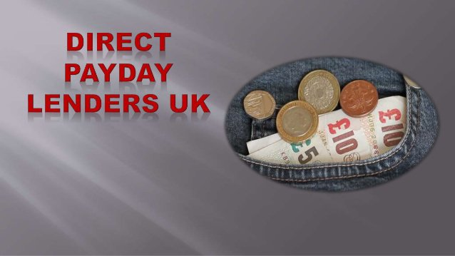 Borrow A Payday Loan From Direct Payday Lenders!