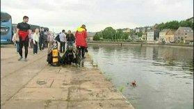 Honfleur: un car tombe dans un bassin - France 3 Basse-Normandie