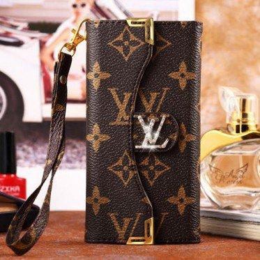 coque/portefeuille pliant de LV (Louis Vuitton) avec strass pour iphone6 /6plus/5/5s