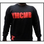 Sweat YMCMB noir et rouge