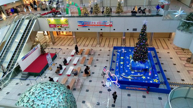 アステ川西・クリスマス銀河鉄道 : hiromon の鉄道ビデオ
