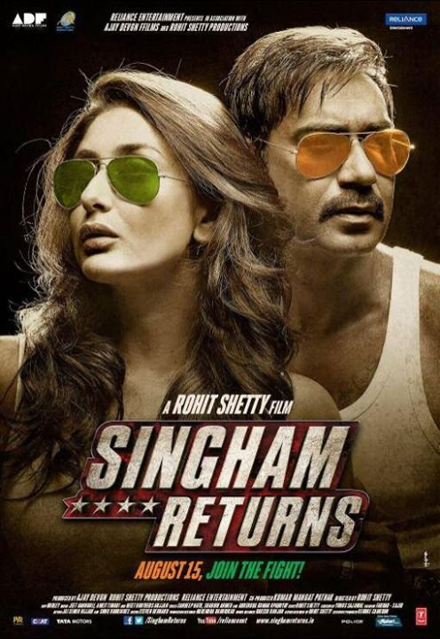 Singham Returns (2014) | Watch Hindi Movies Online Free