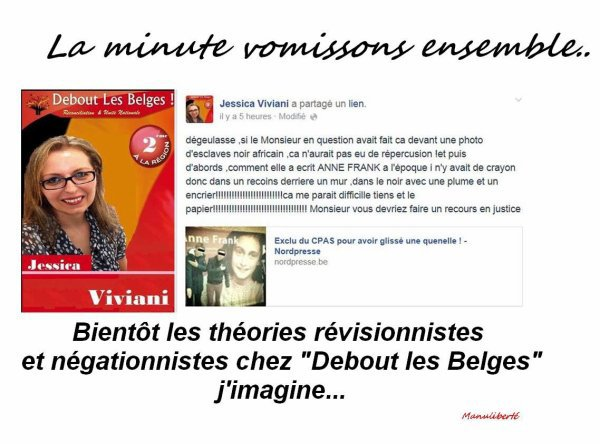 La minute vomissons ensemble avec Jessica Viviani (groupuscule Debo...