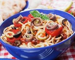 Spaghetti aux anchois