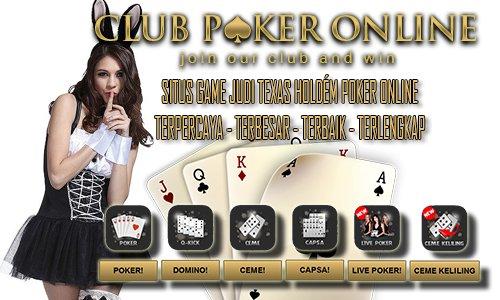 Texas Hold'em Poker Online Indonesia Pakai Uang Asli Rupiah