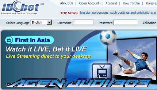Langkah Langkah Untuk Daftar Situs Judi Ibcbet Online