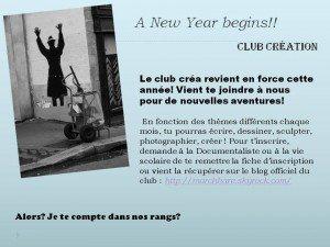 HODIE CREO // CLUB CRÉATION