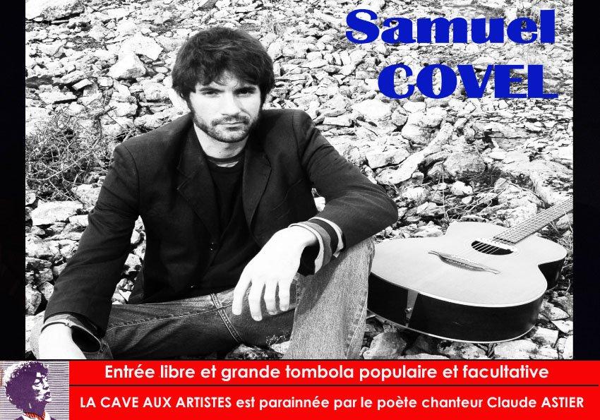 Samuel COVEL en concert à la cave aux artistes | Muzikomag