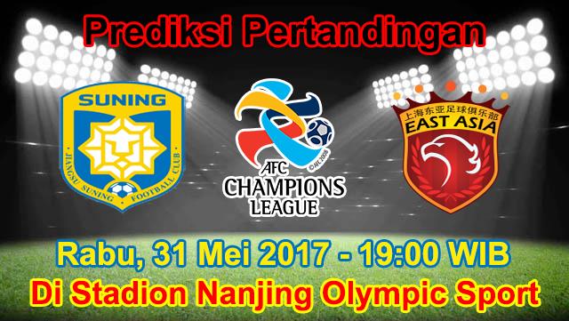 Prediksi Jiangsu Suning vs Shanghai SIPG 31 Mei 2017