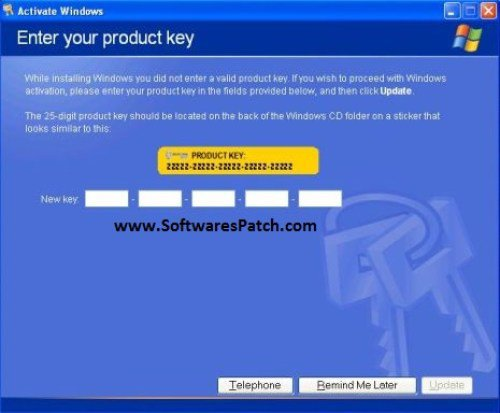Windows XP Product Key 2015 for All Version Free Download