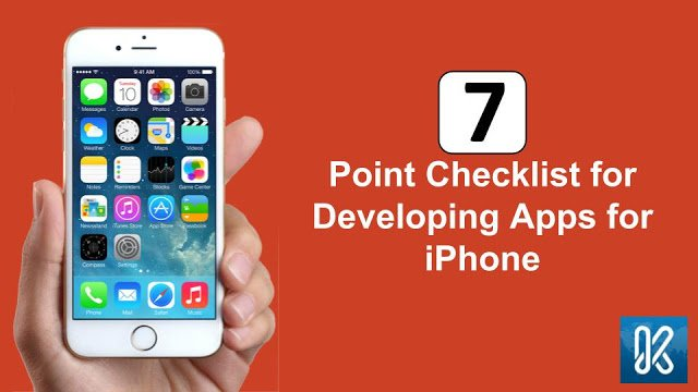 Trending Stories of Mobile App Development: 7 Point Checklist for Developing Apps for iPhone