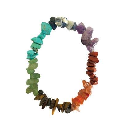 Bracelet Baroque 7 minéraux - Magie des Bijoux