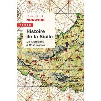 Histoire de la Sicile de John Julius Norwich