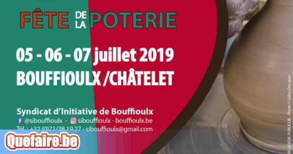 50ème Fête de la Poterie de Bouffioulx