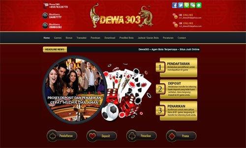 Agen Judi Game Taruhan Bola Online Indonesia Terpercaya