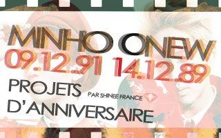 SHINee France » {ANNONCE/PROJET} 131031 | Projets anniversaires de Minho et Onew ✰彡