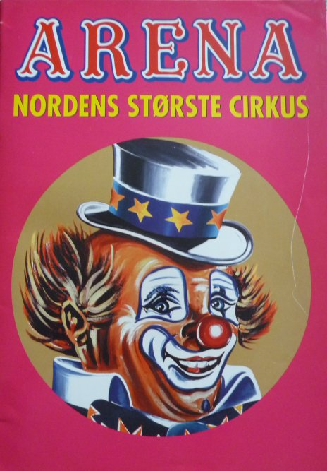 Programme cirkus ARENA 2001
