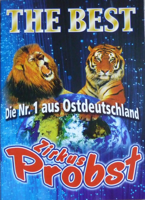 Programme Circus PROBST 2001