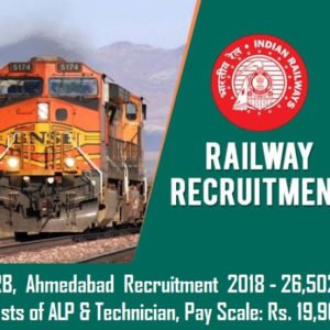 Railway Recruitment 2018   62,907 Post For Group D