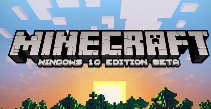 Minecraft pour Windows 10 sortira le même jour que Windows 10
