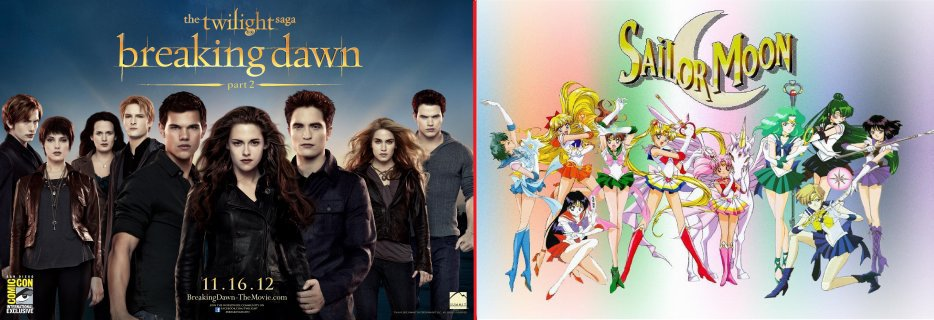 82ème blog shur Twilight et Sailor Moon. *-*