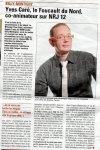 Yves dans la voix du nord du 30mars2011 - Bienvenu chez moi Yves Care