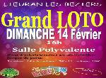 Annonce 'GRAND LOTO DE LA RECRE DE LIEURAN LES BEZIERS'
