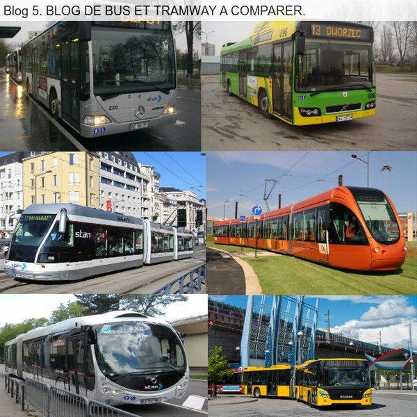 Blog 5. BLOG DE BUS ET TRAMWAY A COMPARER. pseudos du blog nicolas540005.