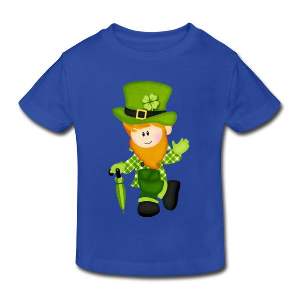 Cartoon St. Patrick Toddler T-shirt on Sale-HICustom.net