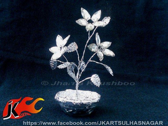 Jk arts kundan flowers