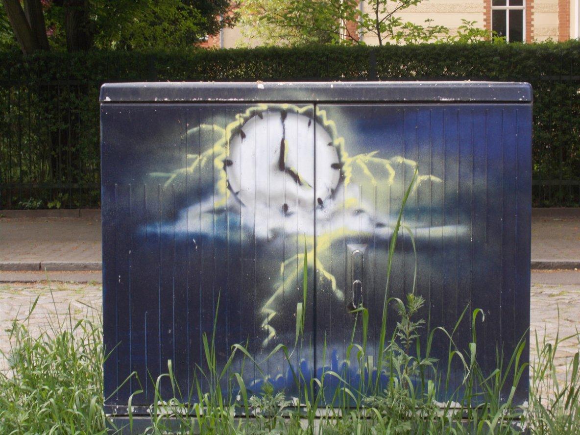 Stundensekunden Vergehen — Depressiver Optimist