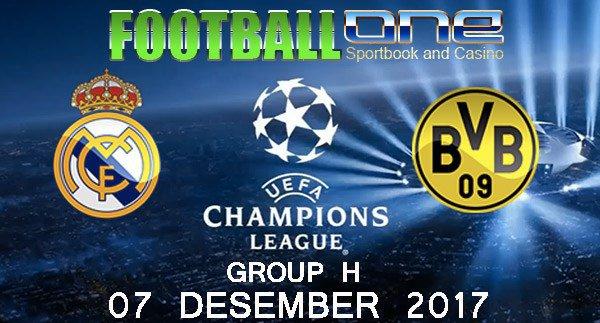 Prediksi REAL MADRID vs BORRUSIA DORTMUND 07 Desember 2017