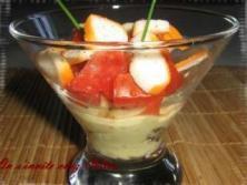 recettes verrines salée ou sucrée