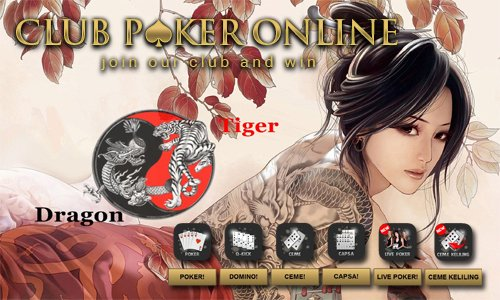 Agen Judi Dragon Tiger Online