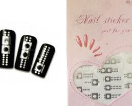 water decal,nail art,manucure,zip,argenté
