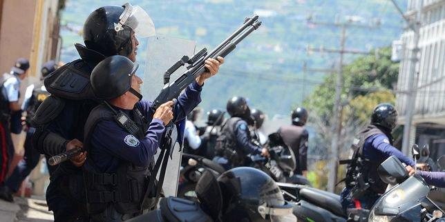 Coup d'Etat chaviste au Venezuela