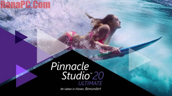 Pinnacle Studio 20 Ultimate Crack Serial Key Free - Rana PC Soft