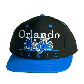 Casquette Neuve Ajustable Officielle NBA - Orlando Magic Snapback - Casquette Noire/Bleue: Amazon.fr: Sports et Loisirs