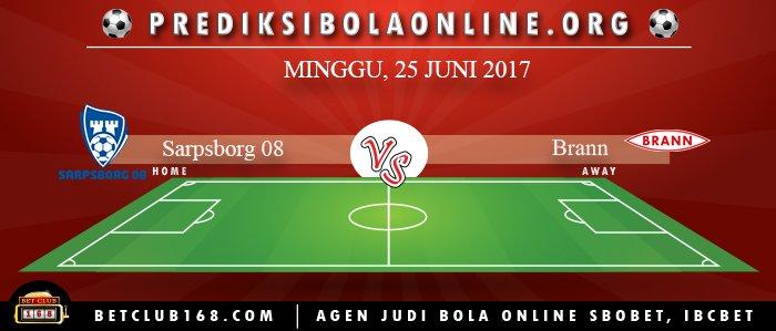 Prediksi Sarpsborg 08 Vs Brann 25 Juni 2017