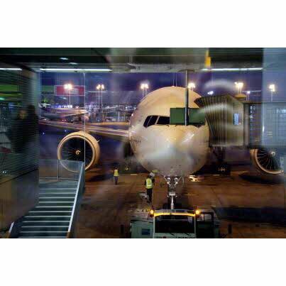 01-11-2018 - Aéroport Roissy : deux avions s'accrochent avant de décoller