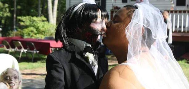 Une Américaine de 21 ans s'est mariée avec... un zombie de 37 ans