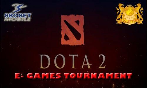 Judi Uang Asli Turnamen DotA 2 Online SBOBET Terpercaya