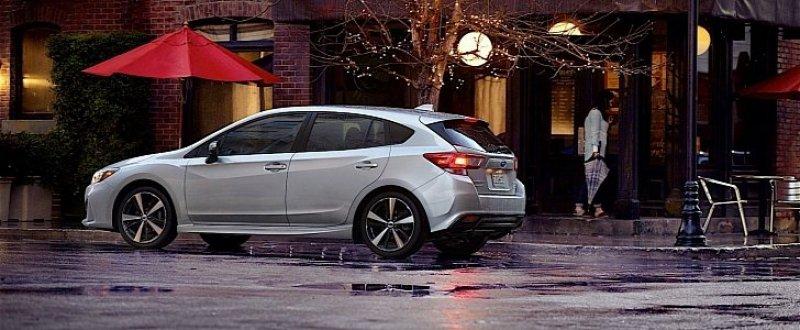 The 2018 Subaru Impreza getting recalled
