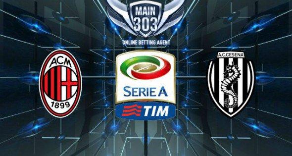 Prediksi Milan vs Cesena 22 Februari 2015 Serie A
