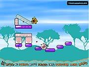 Play Little Fockers-Bouncy Castle Battl Flash Game - Kizi2.co.uk