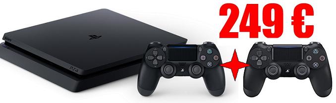 PS4 Slim Grosse baisse de prix pour contrer la Nintendo Switch