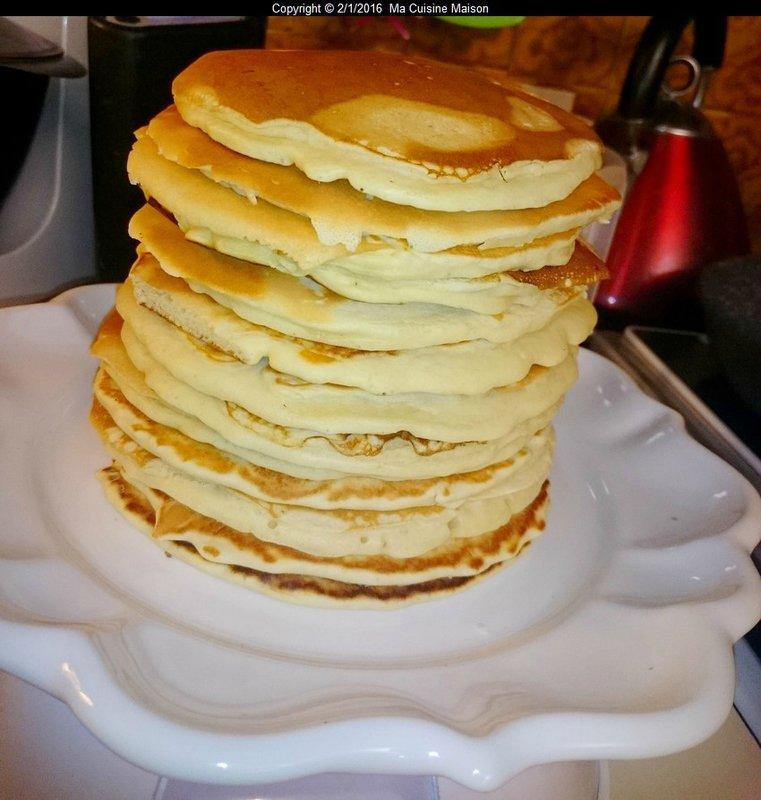 PAN-CAKES (recette maison)