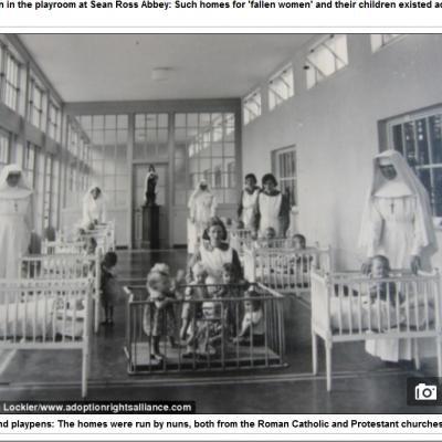 800 cadavres de bébés non-désirés découverts dans une fosse septique dans un couvent irlandais: les nonnes les laissaient mourir