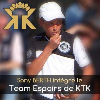 Sony BERTH chez KTK en 2016